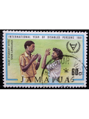 Jamaica, International Year of Disabled Persons, 60 C 1981 used VF