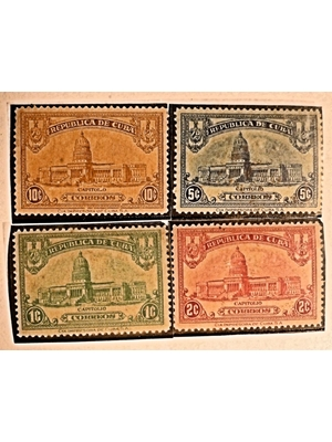 Stamps of Cuba,Independence to Revolution 1902-1959