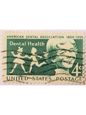 United States of America Centenary of American Dental Association 1859-1959 Dental Health 4c used fine