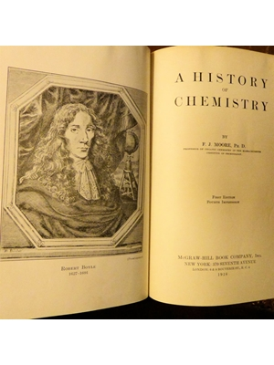 A History of Chemistry, F J Moore, Illustrated, McGraw Hill Book Company Inc 1918 First Edition, Fourth Impression