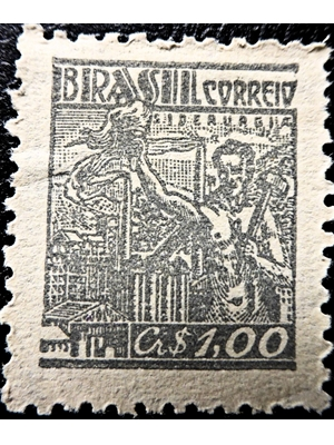 Brazil, Industry, 1942, unused