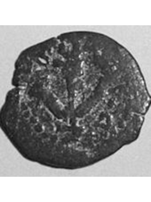 Biblical coin of King Herod 37-4 BC