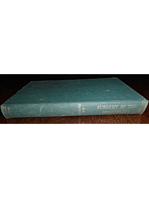 Surgery of the Oesohagus, R H Franklin, First Edition, 1952 very good copy