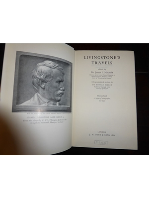 Livingstone's Travels, Dr James I Mcnair, Illustrated, J. M. Dent & Sons, London 1954 First Edition, very good copy,